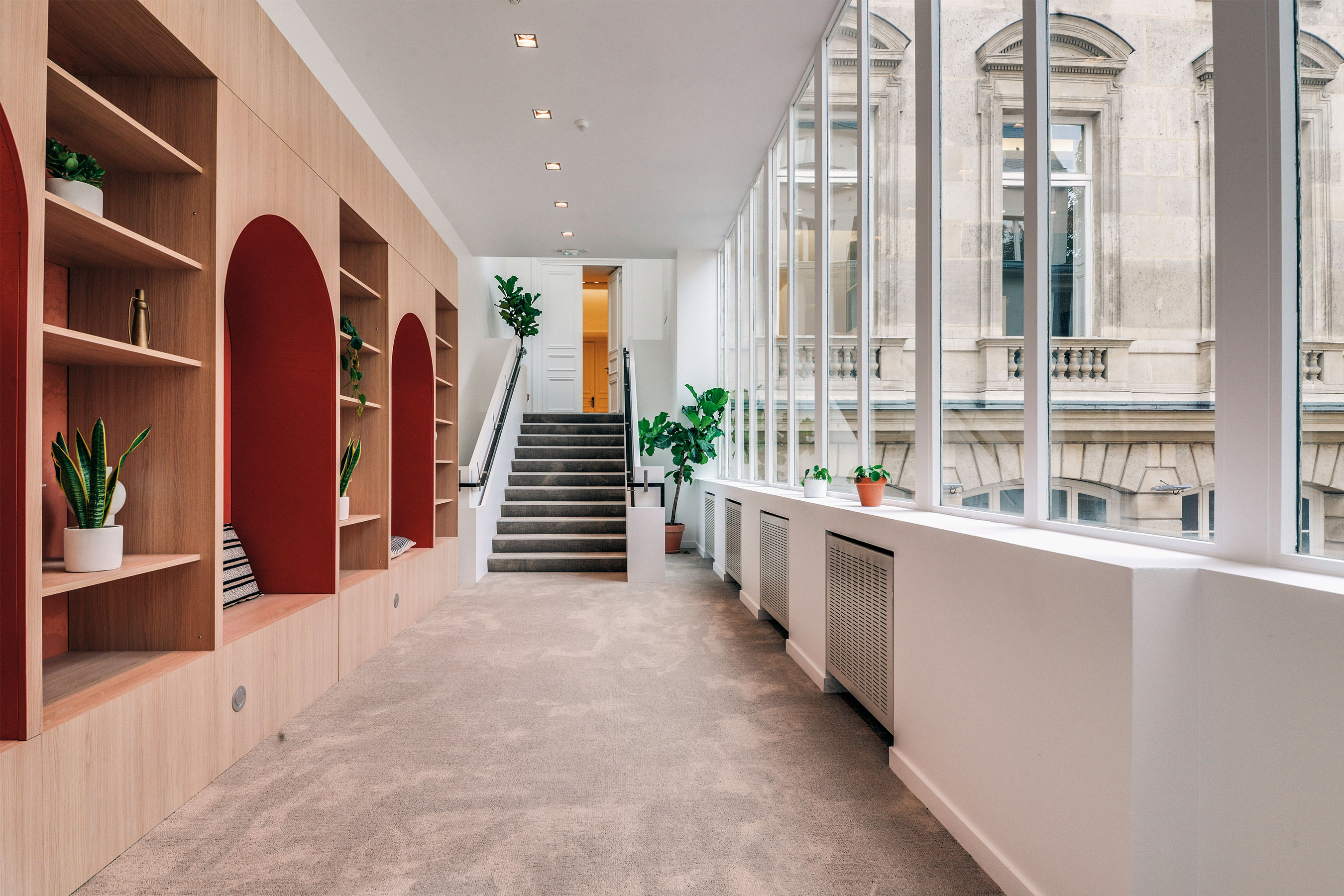 coworking Champs-Elysees - Couloir