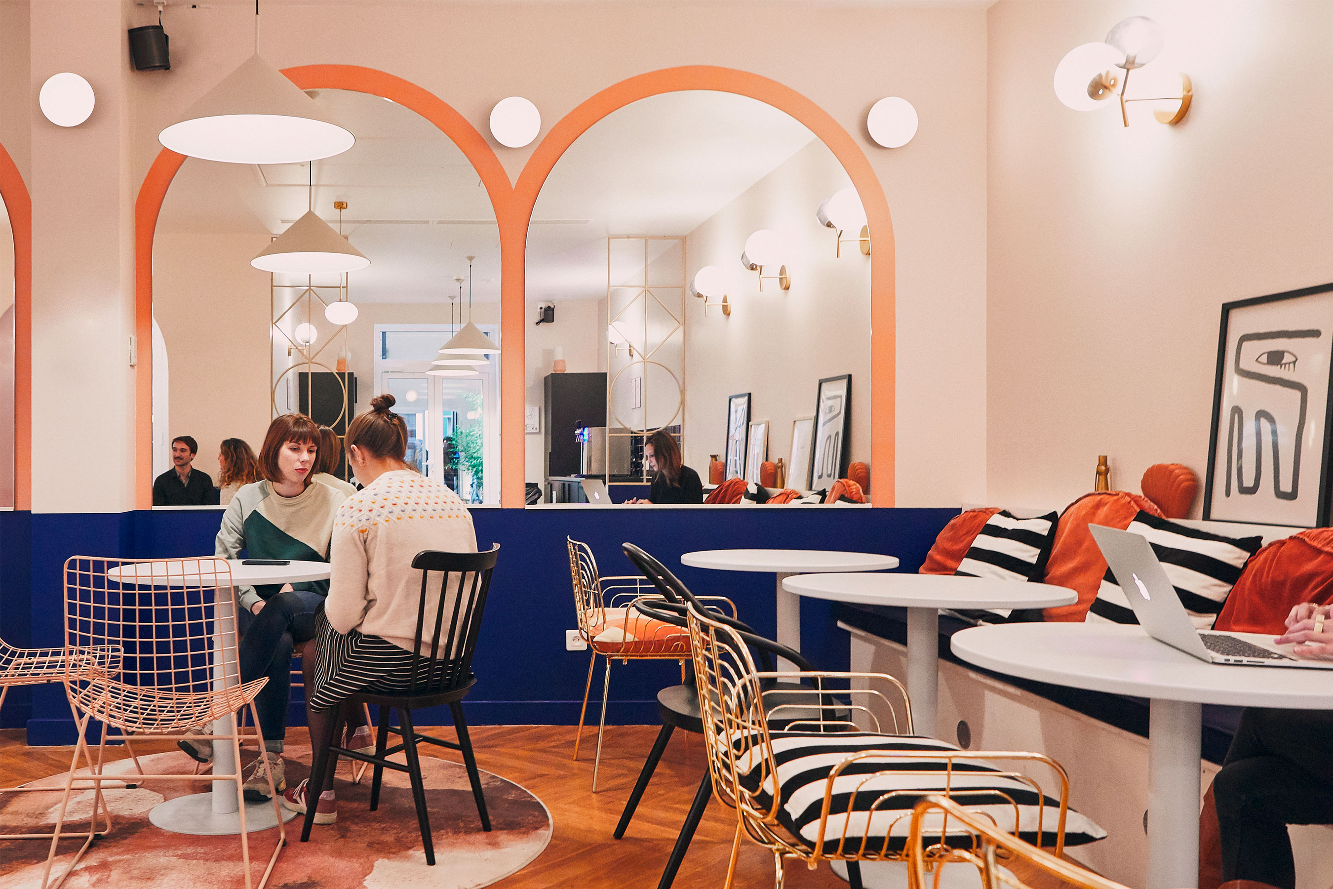 coworking Champs-Elysees - Espace commun cuisine