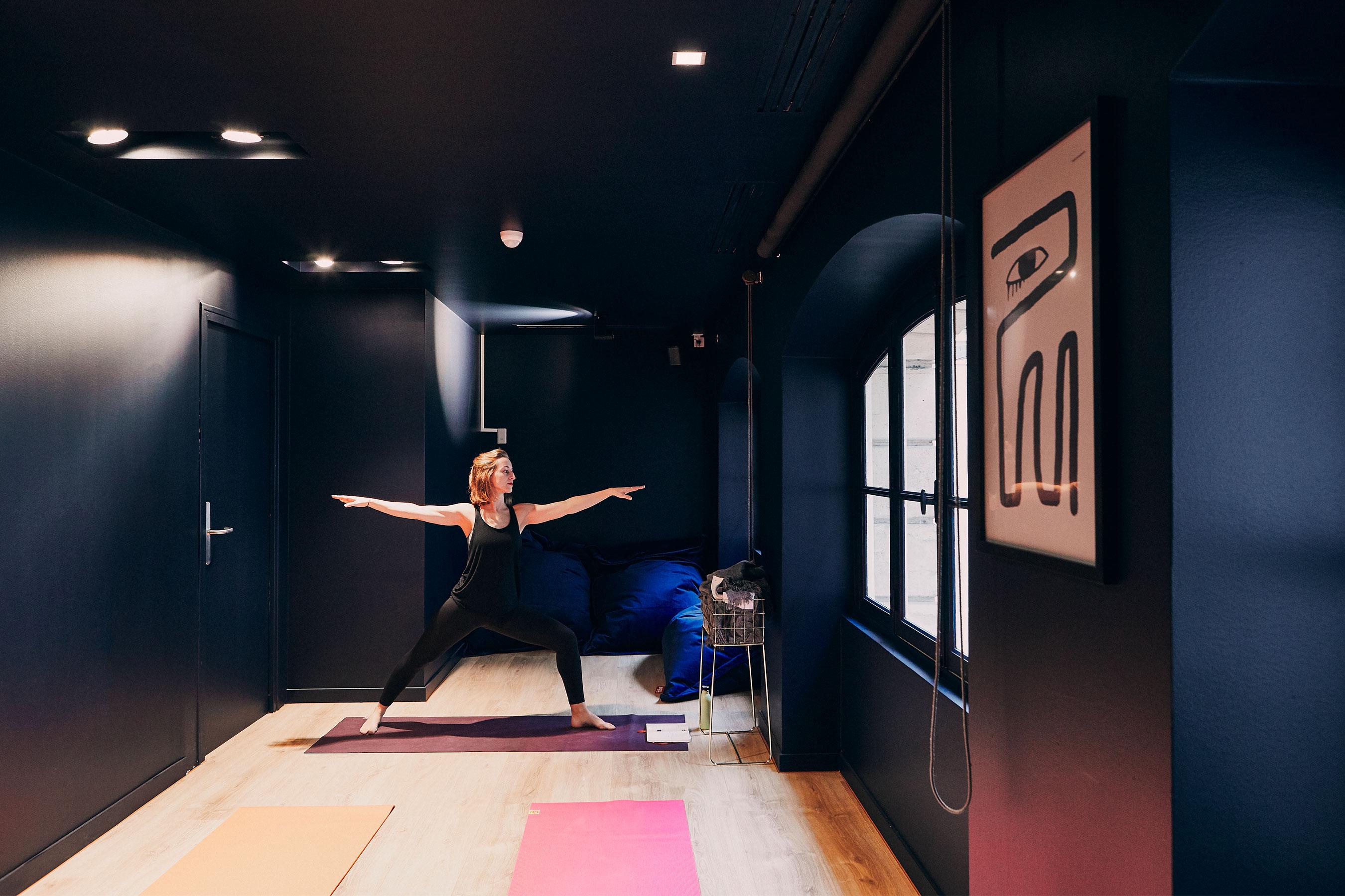 coworking Champs-Elysees - Espace détente Yoga