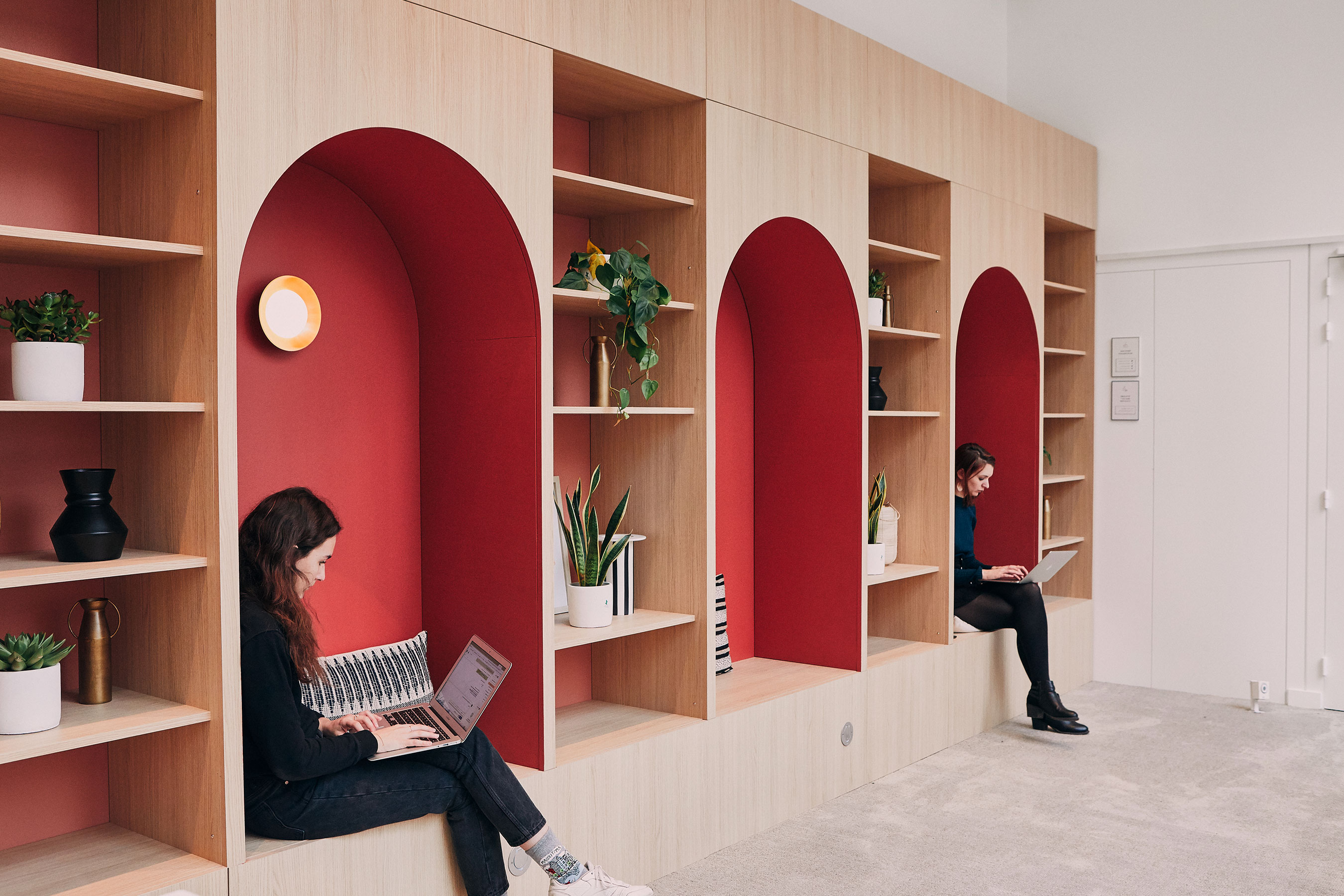 coworking Champs-Elysees - Espace commun Alcove