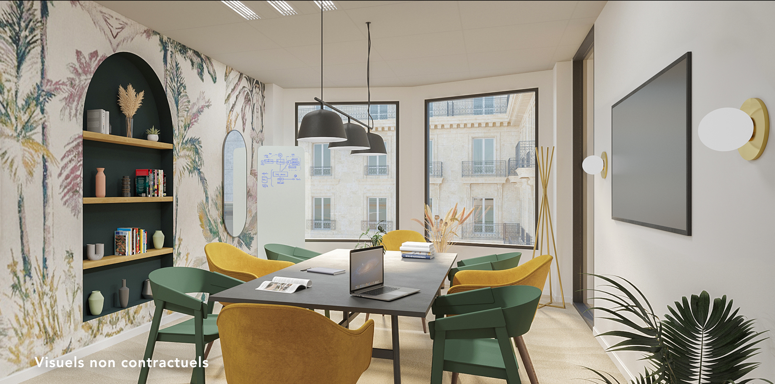 Bureau indépendant Paris 16 - Salle de réunion