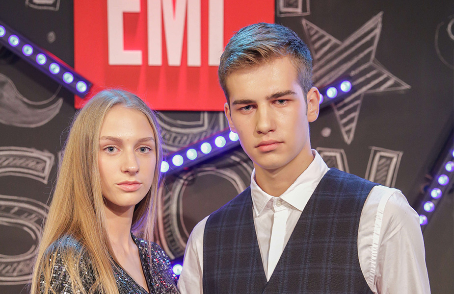 Jelena and Luka the Winners of EMLl 2019 Serbia