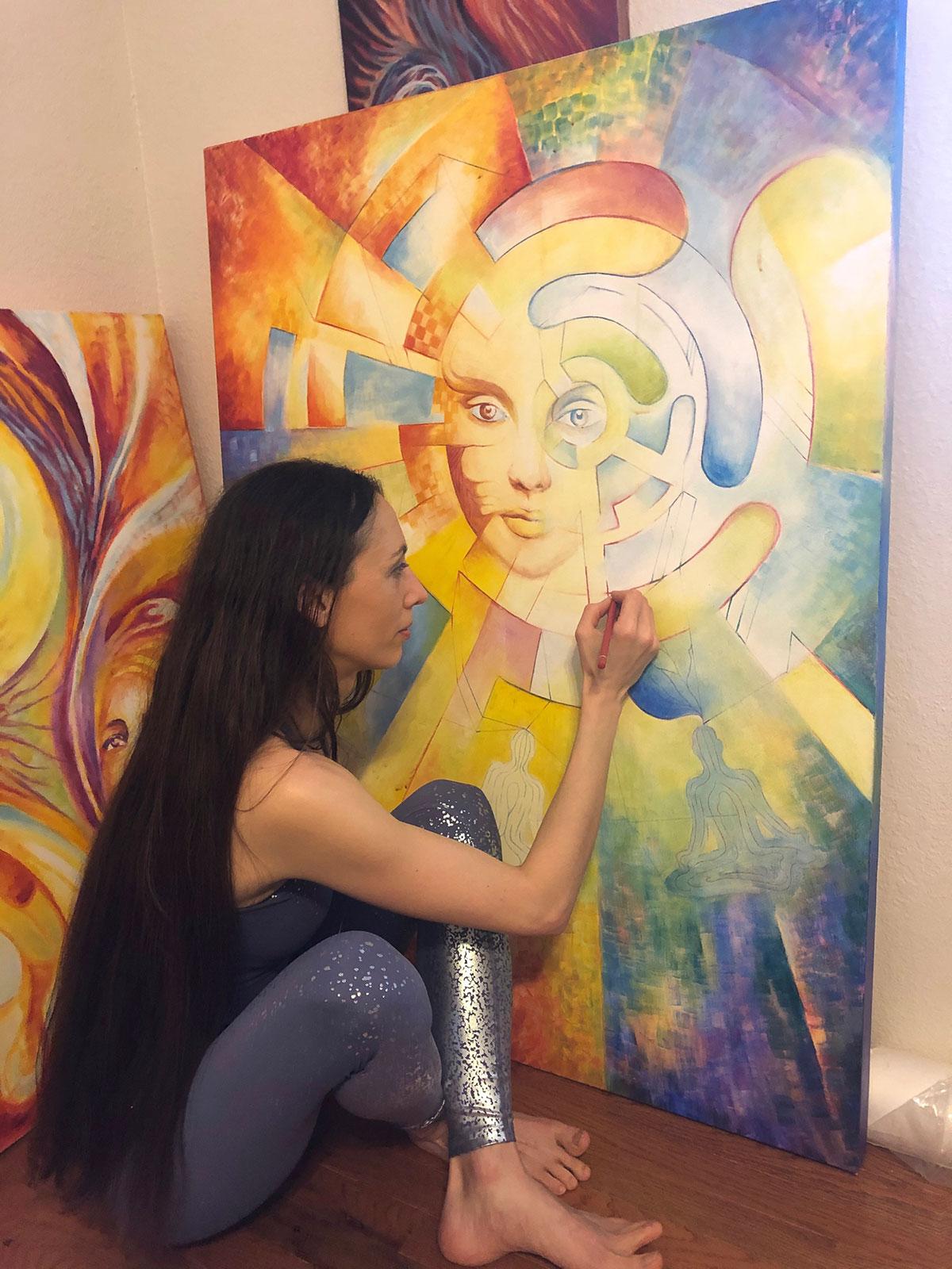 Virtual Studio Tour and Artist Demonstration