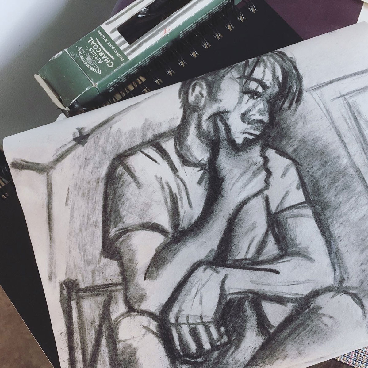 Drop in figure drawing