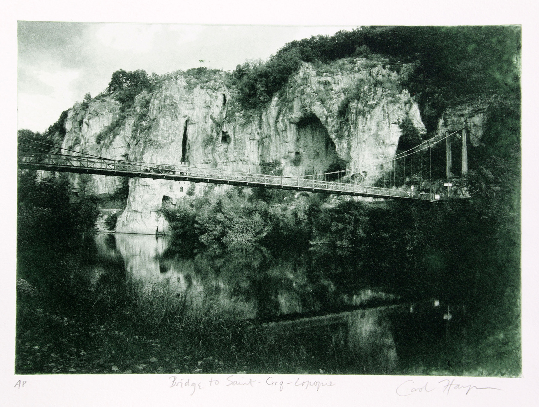 Bridge to Saint-Cirq-Lapopie