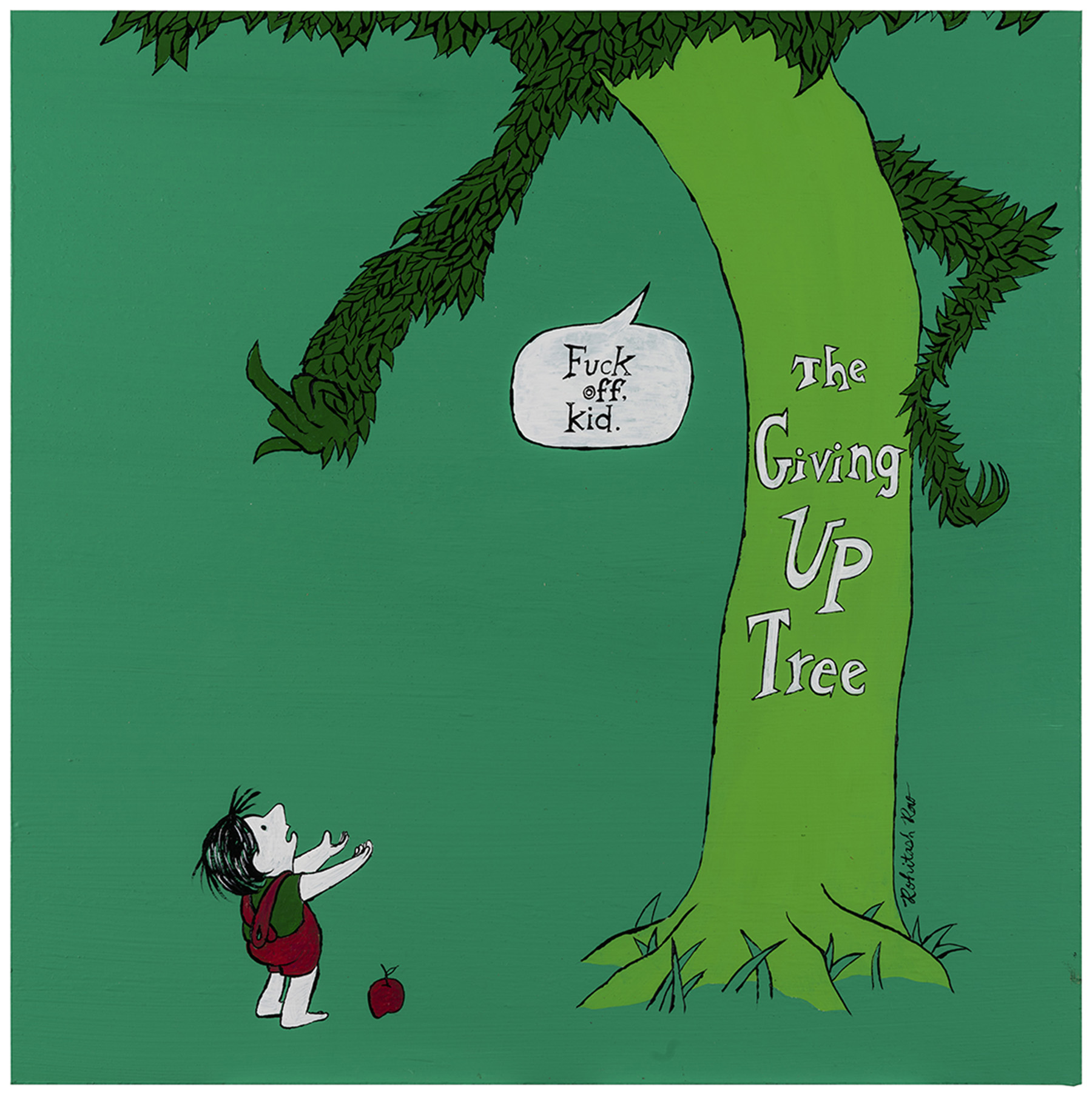 The Giving Up Tree
