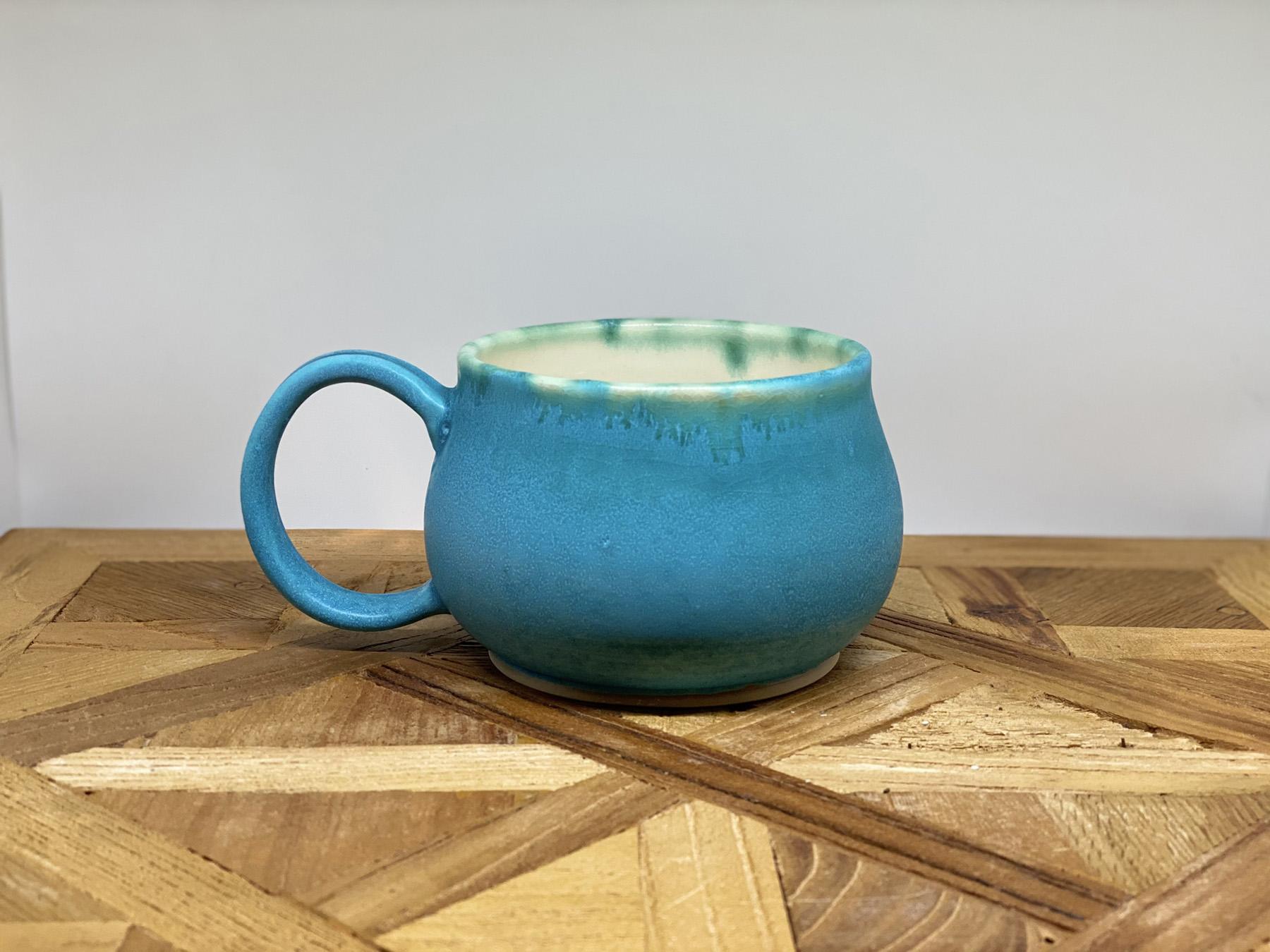 Turquoise Stone Mug