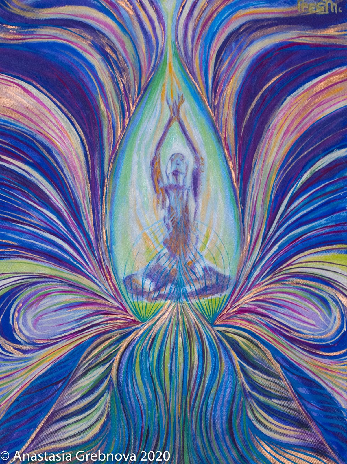 Creative Visualization through Art and Yoga