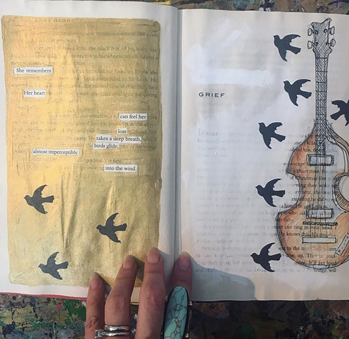 Altered Books as a means of self expression