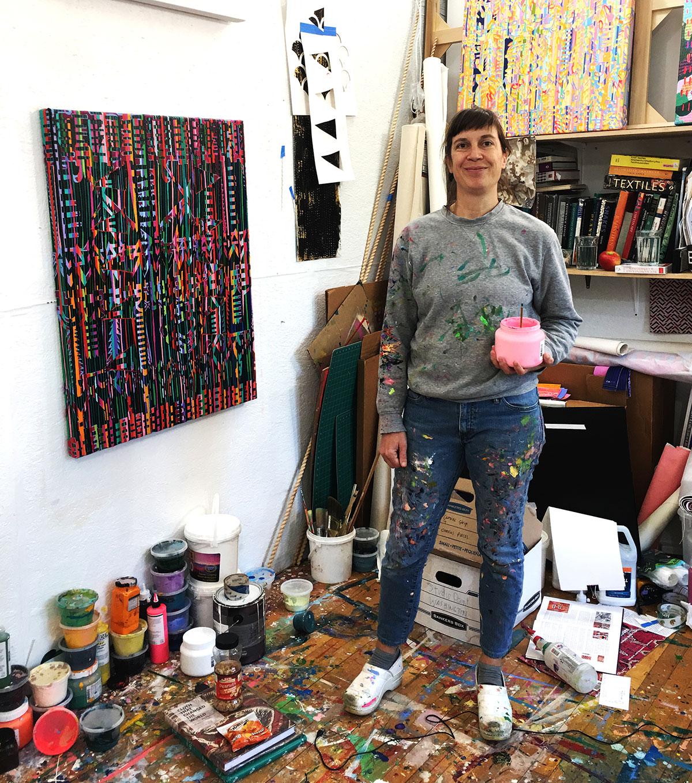 Erin Curtis Studio Visit