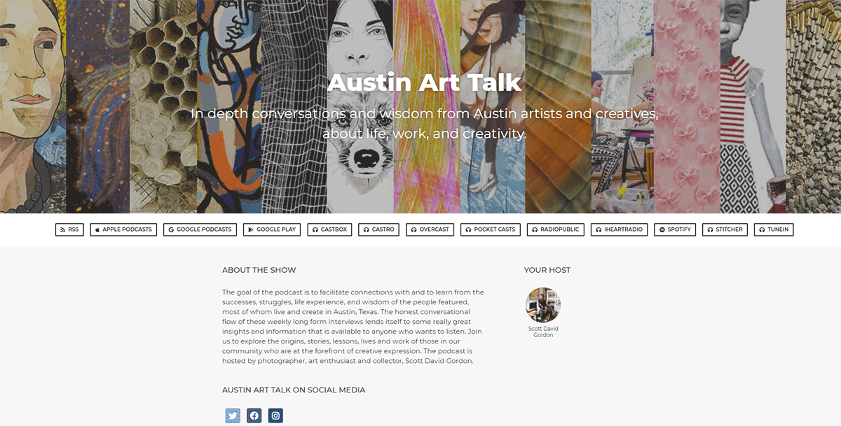 Laura Caffrey - Reject/Respect (Austin Art Talk: Episode 32)