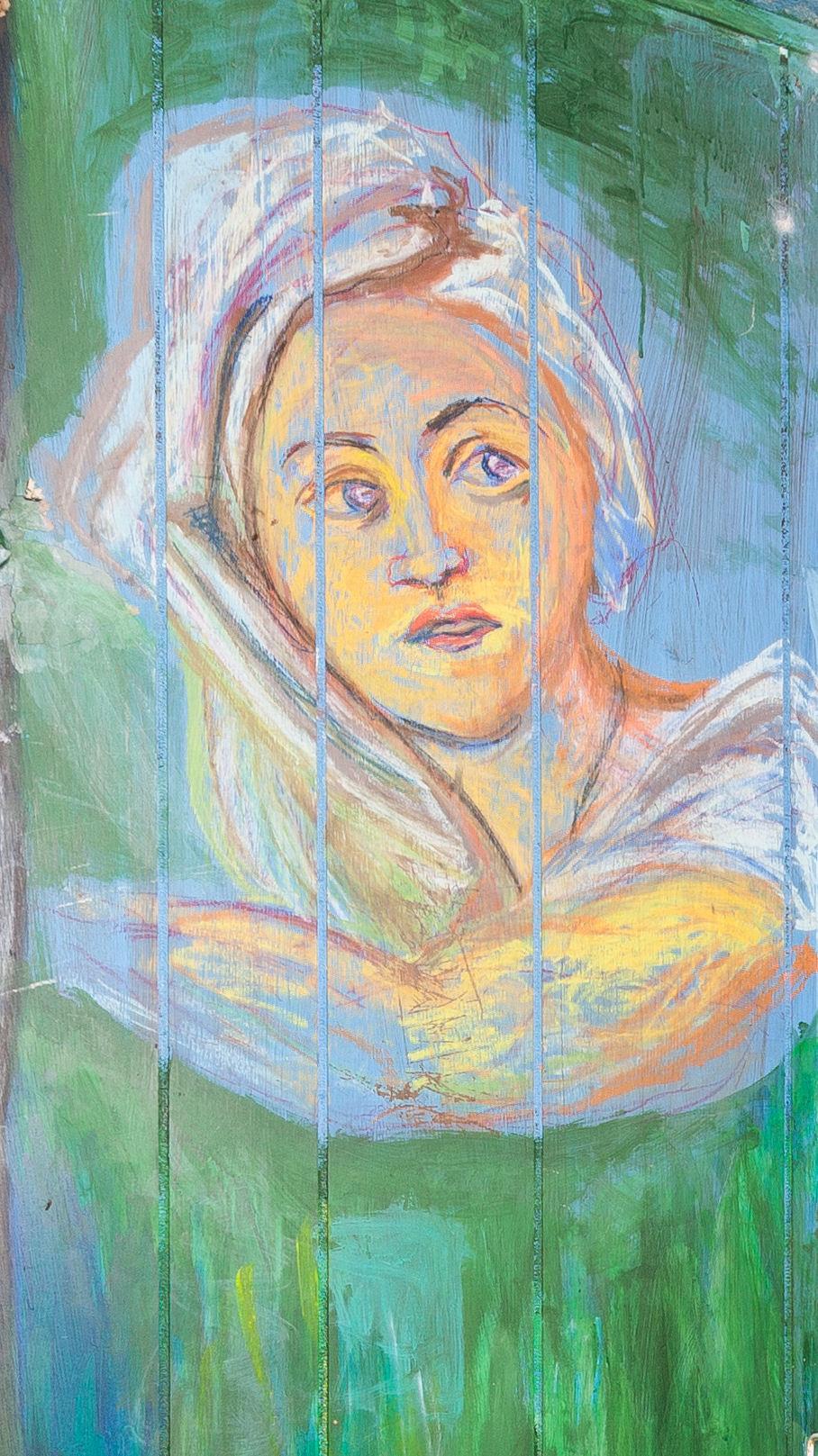 After Fragonard - Girl's Face