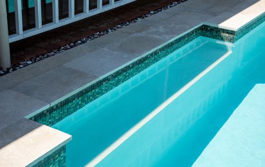 inlet to swimming pool