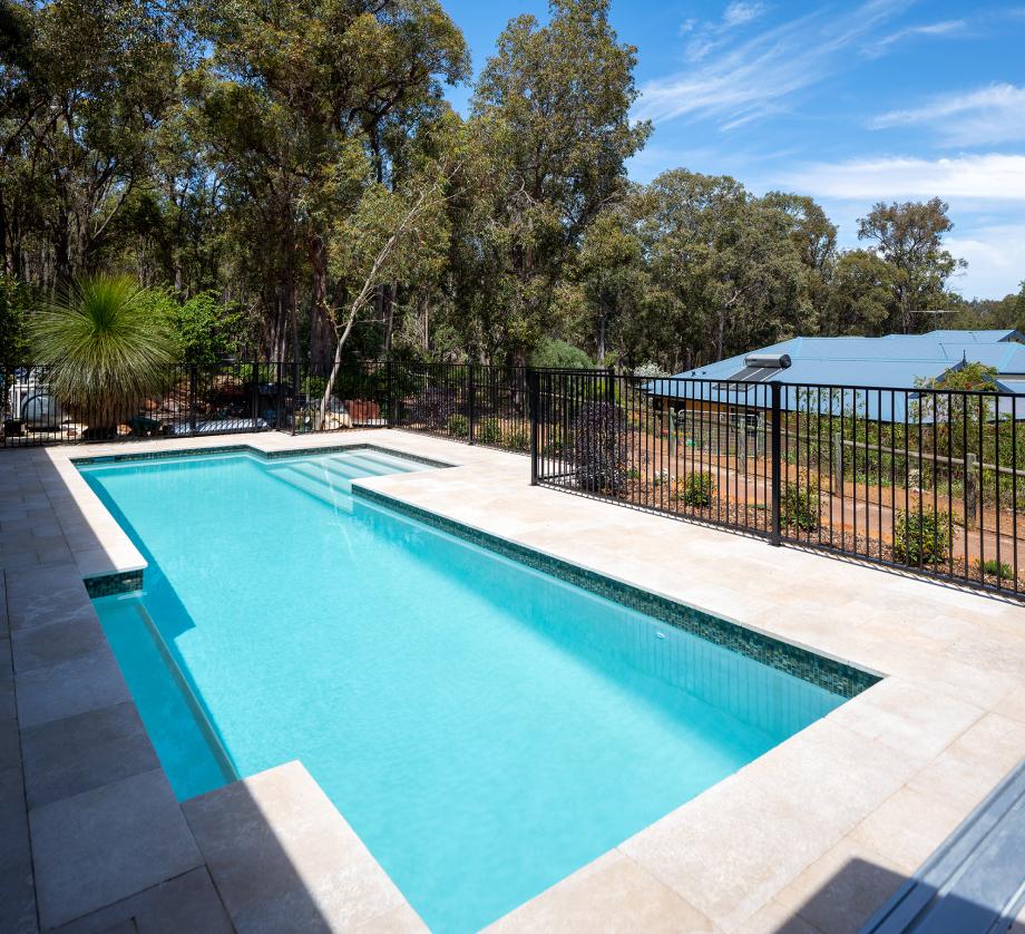 light blue oasis pool