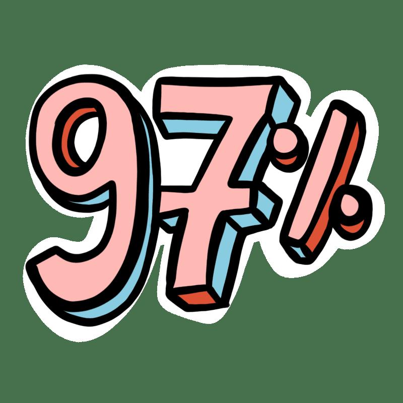 JU gel douche 97% origine naturelle