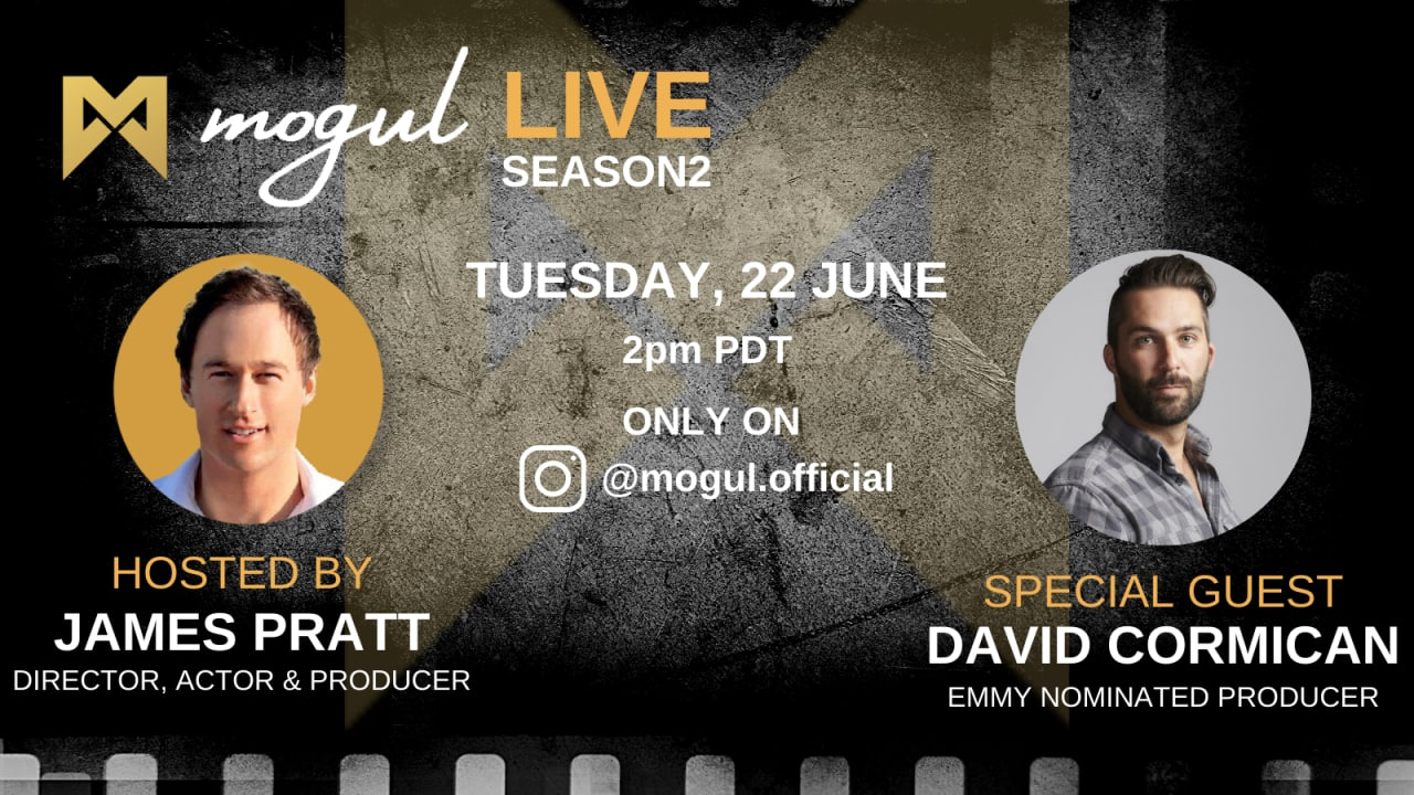 Mogul Live Returns to Airwaves - on Instagram Live - TODAY!