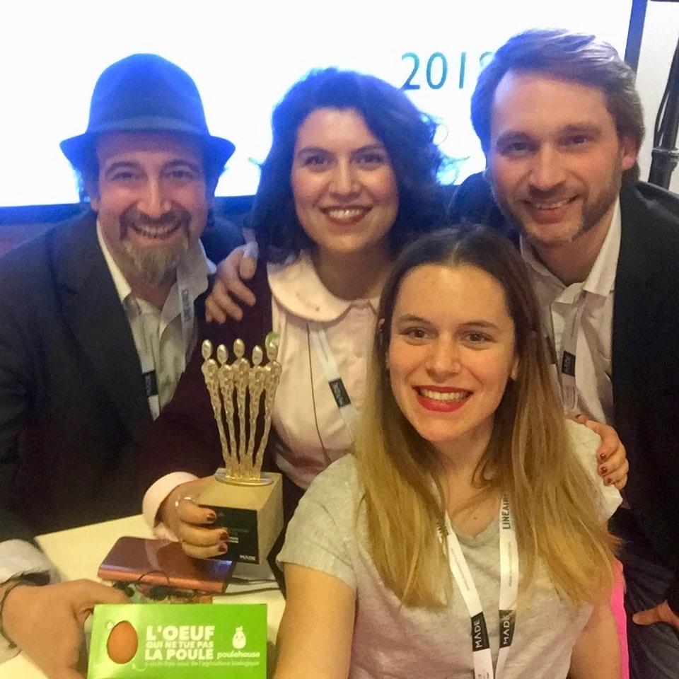 on remporte le prix M.A.D.E d'innovation