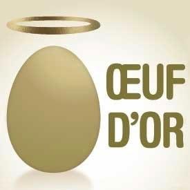 CIWF nous remet l'oeuf d'or