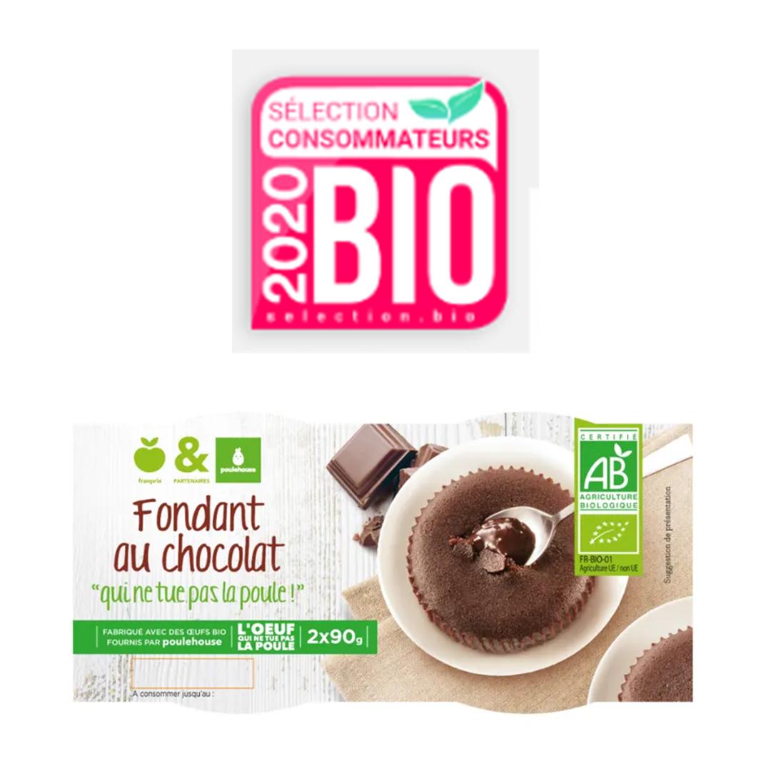 fondant au chocolat partenariat franprix