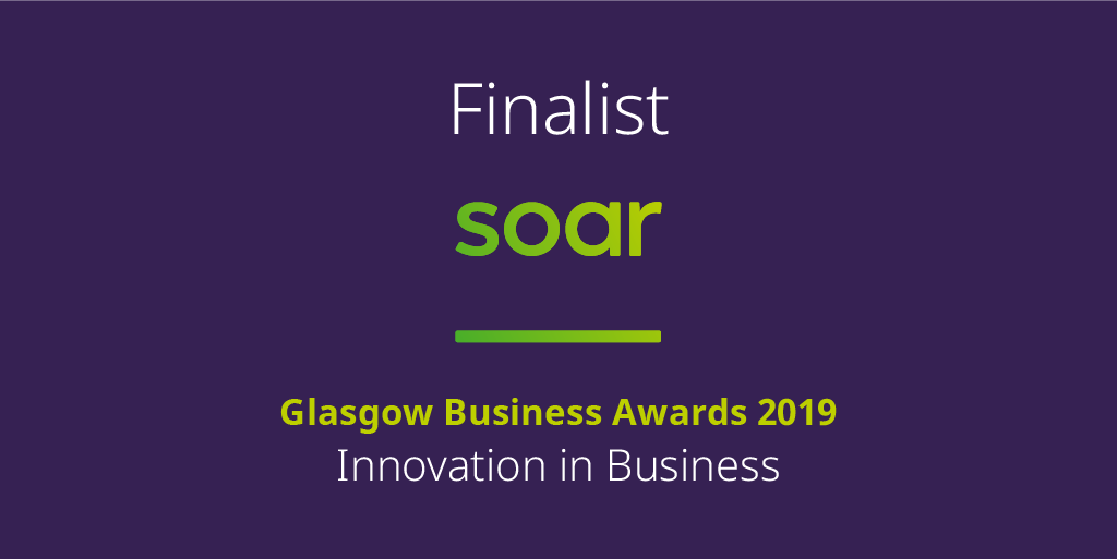 Innovation in Business Finalists at the Glasgow Business Awards