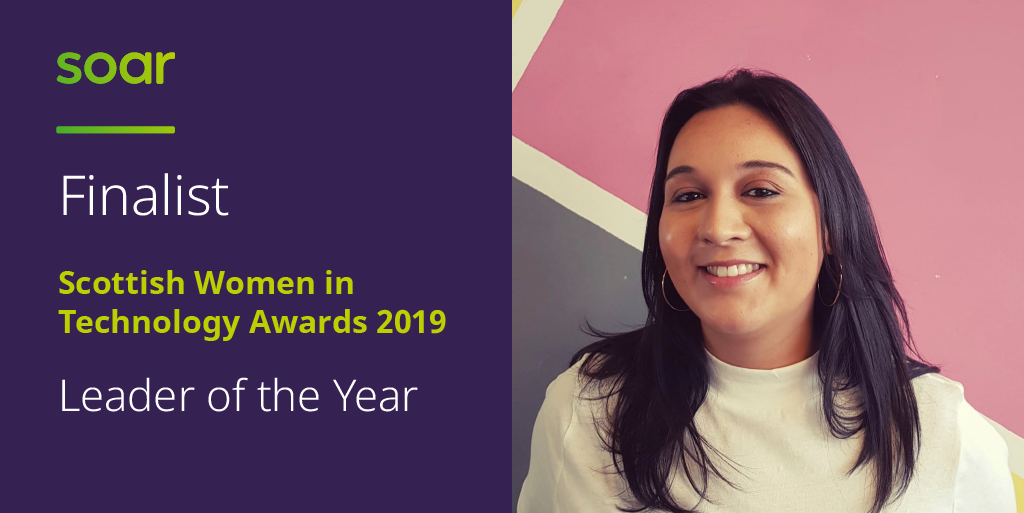 Our CPO is a finalist in the Scottish Women in Technology Awards