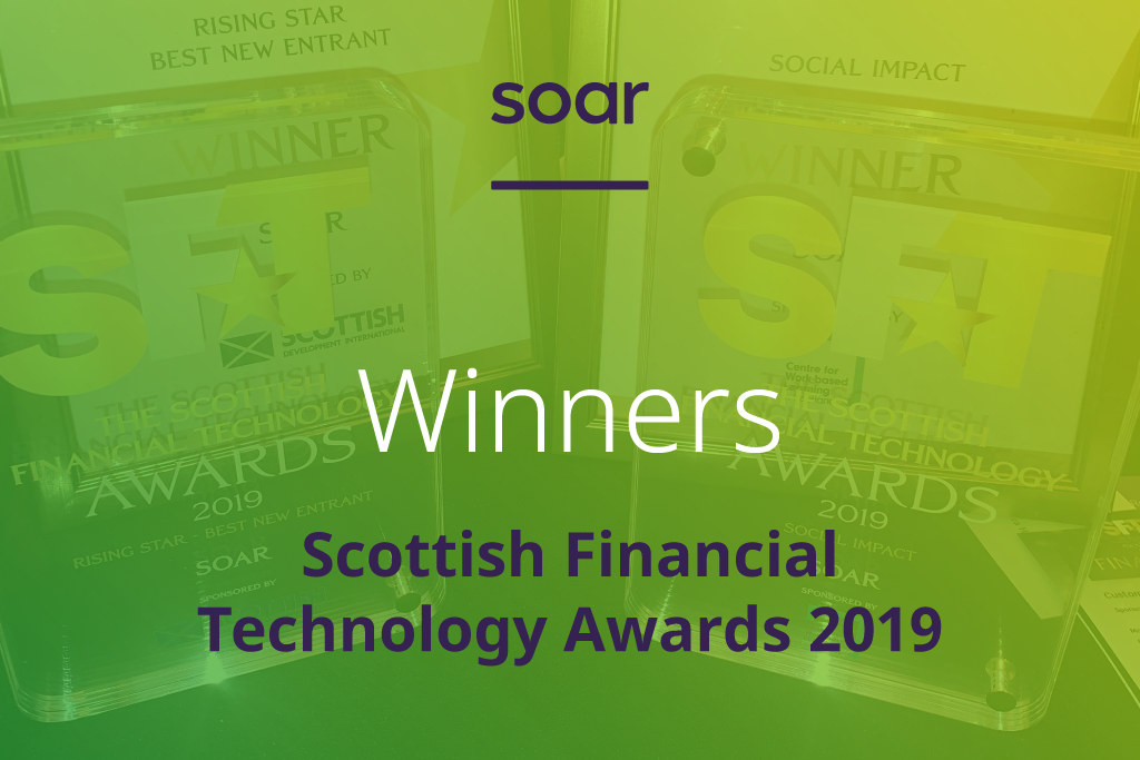 Our Scottish Financial Technology Awards win