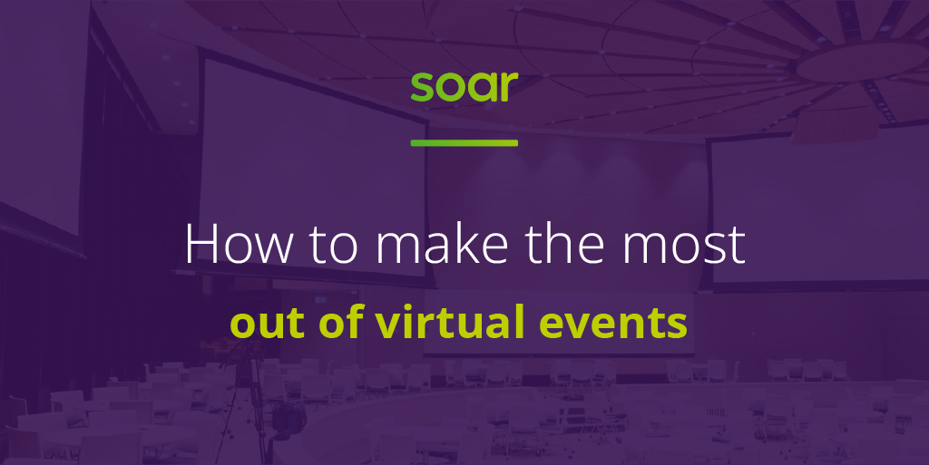 How to make the most out of virtual events