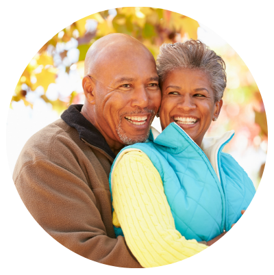 Senior couple prepared with retirement planning