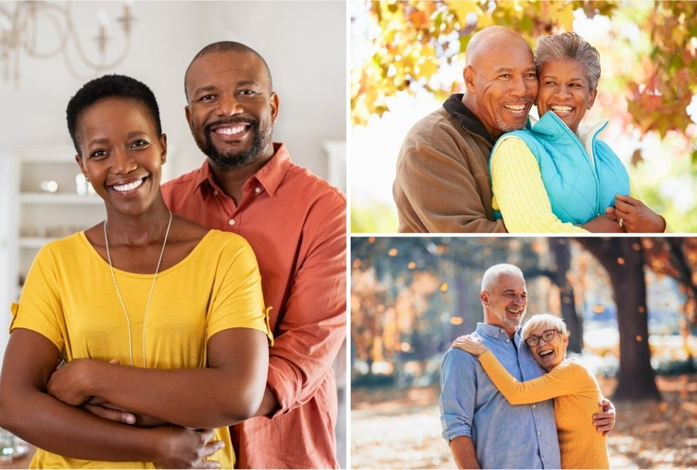 Retirement planning for young and senior people