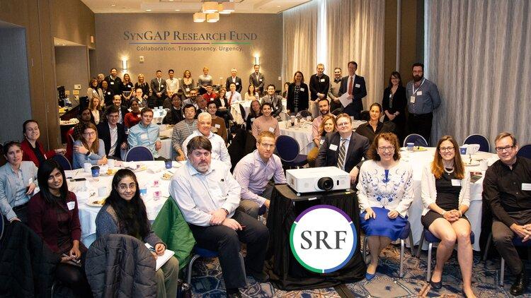 La 1ª Mesa Redonda Anual del SRF SynGAP, 6 de diciembre de 2019, Baltimore, MD. Foto: P. Halliburton.