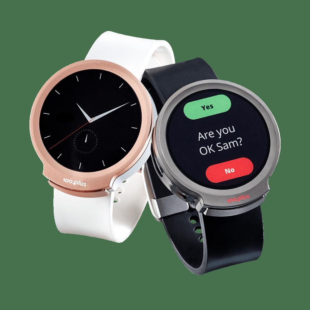100Plus Emergency Watch