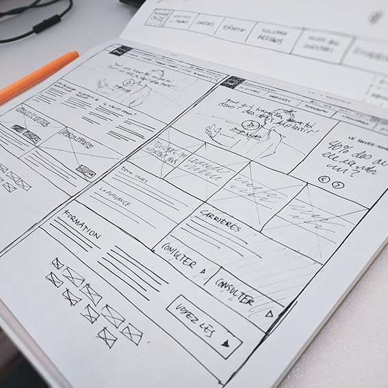 Product UX/UI Design