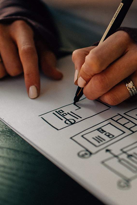 You have some commercial experience or can show project work as UX Designer where you have interviewed users and identified user journey improvements.