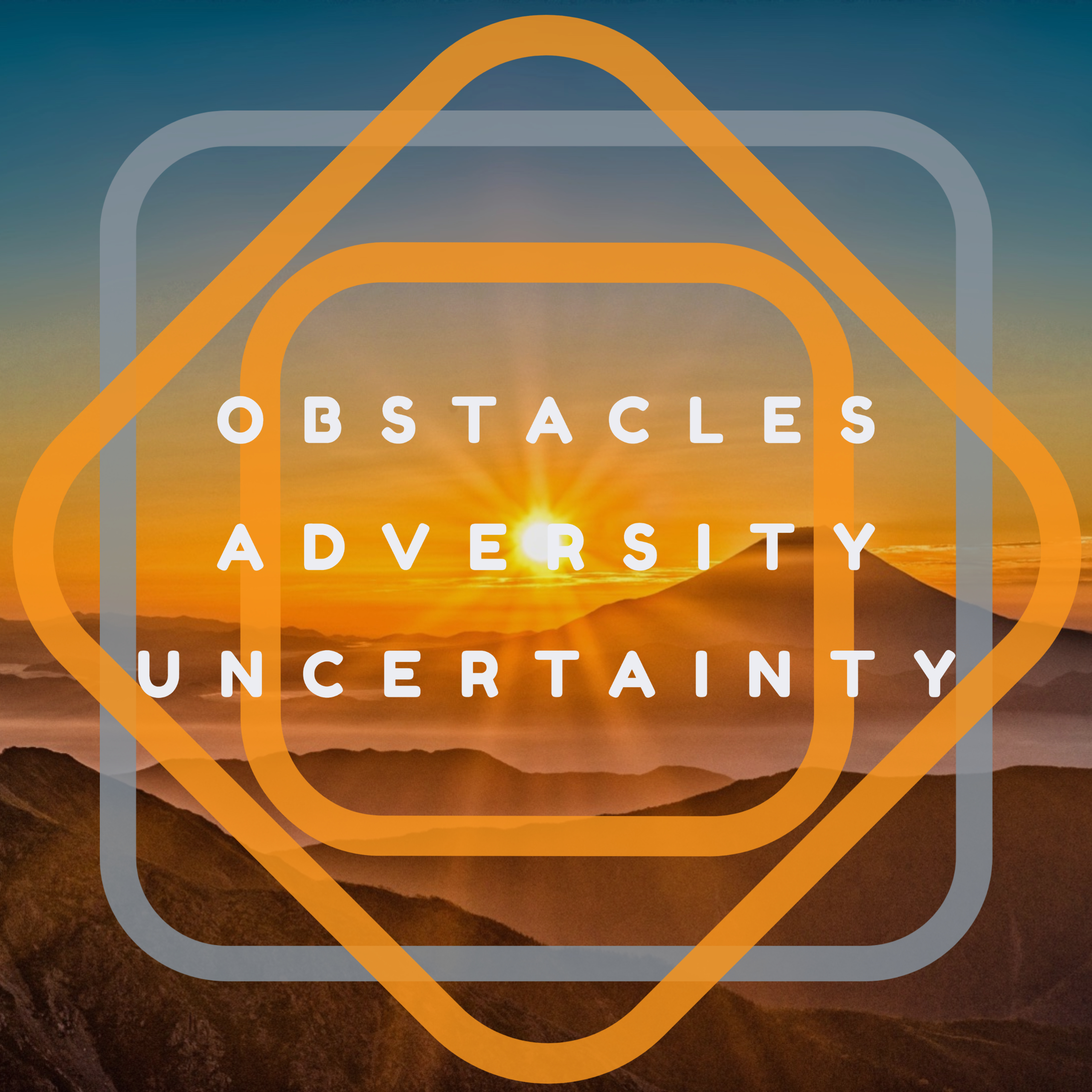 Obstacles, Adversity & Thriving... It's just what we do!