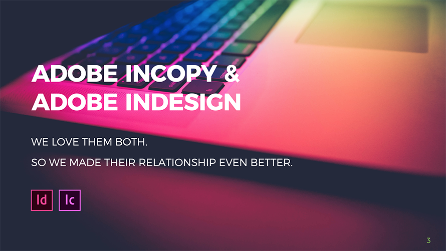 Watch part 1 of the Adobe InCopy and InDesign webinar 2020