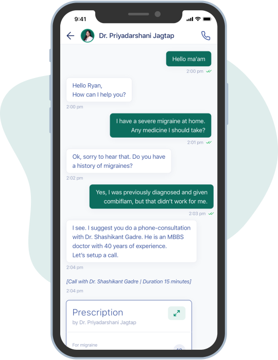 Chat with Medical Advisor