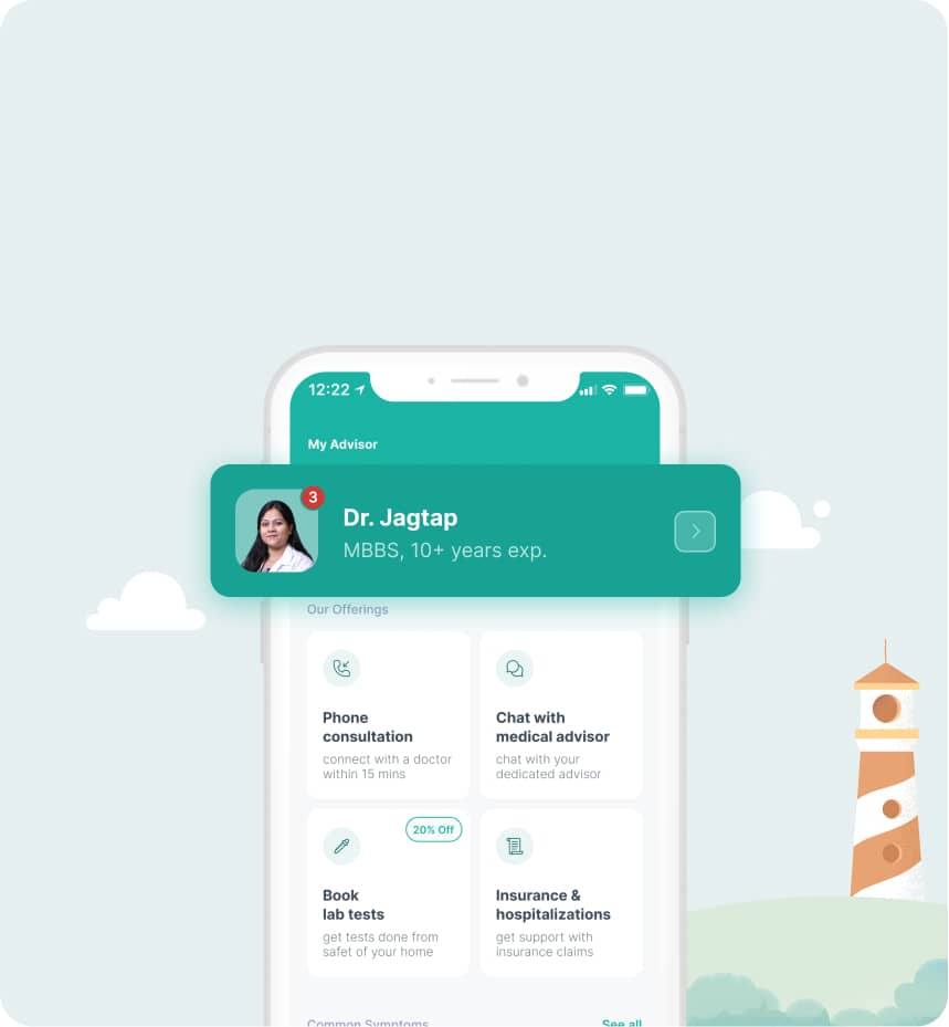 Connect with your medical advisor anytime