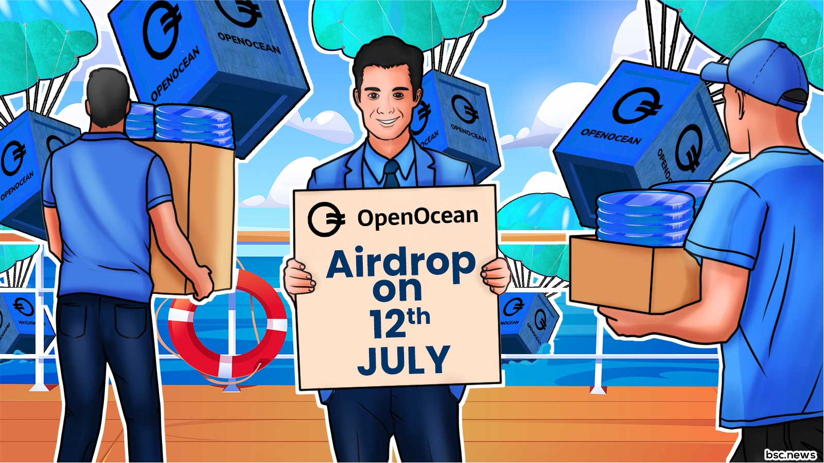 OpenOcean Announces OOE Airdrop and Liquidity Mining Will Commence on July 12th