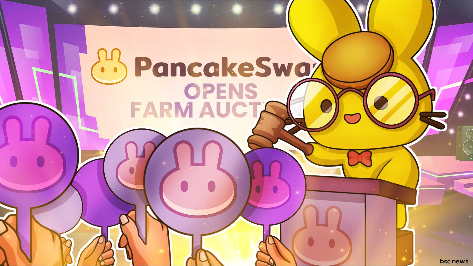PancakeSwap Opens Farm Auctions, Allowing Projects to Bootstrap Initial Liquidity and Yield Farming