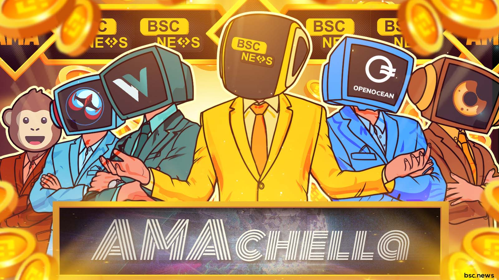 """BSCNews Hosts 1st """"AMAchella,"""" an Ask me Anything with Seven of the Largest Decentralized Exchanges"""