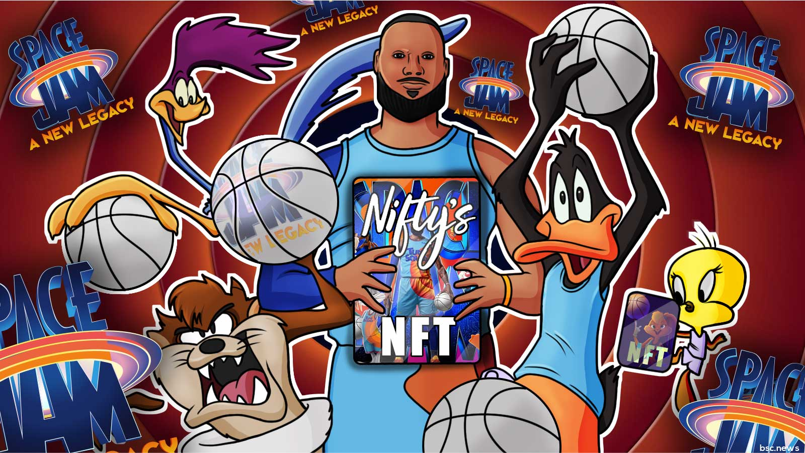 Niftys Launches Official Warner Bros Space Jam 'A New Legacy' NFTs
