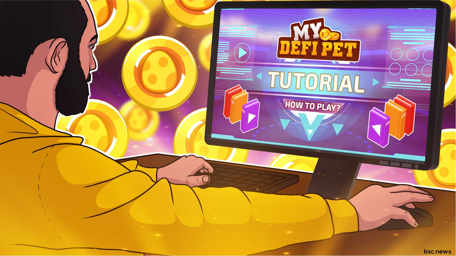 How to Participate in My DeFi Pet's Play to Earn NFT Metaverse
