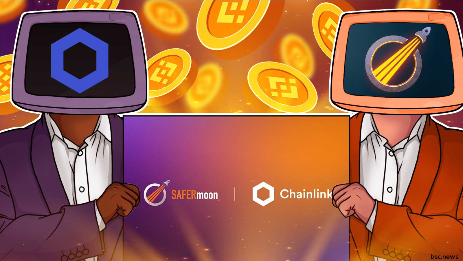 SAFERmoon Integrates Chainlink VRF to Ensure Fairness in the SAFERsummer Event