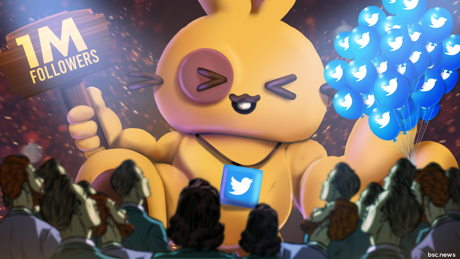 PancakeSwap Crosses 1,000,000 Twitter Followers, What's Next for This BSC Giant?