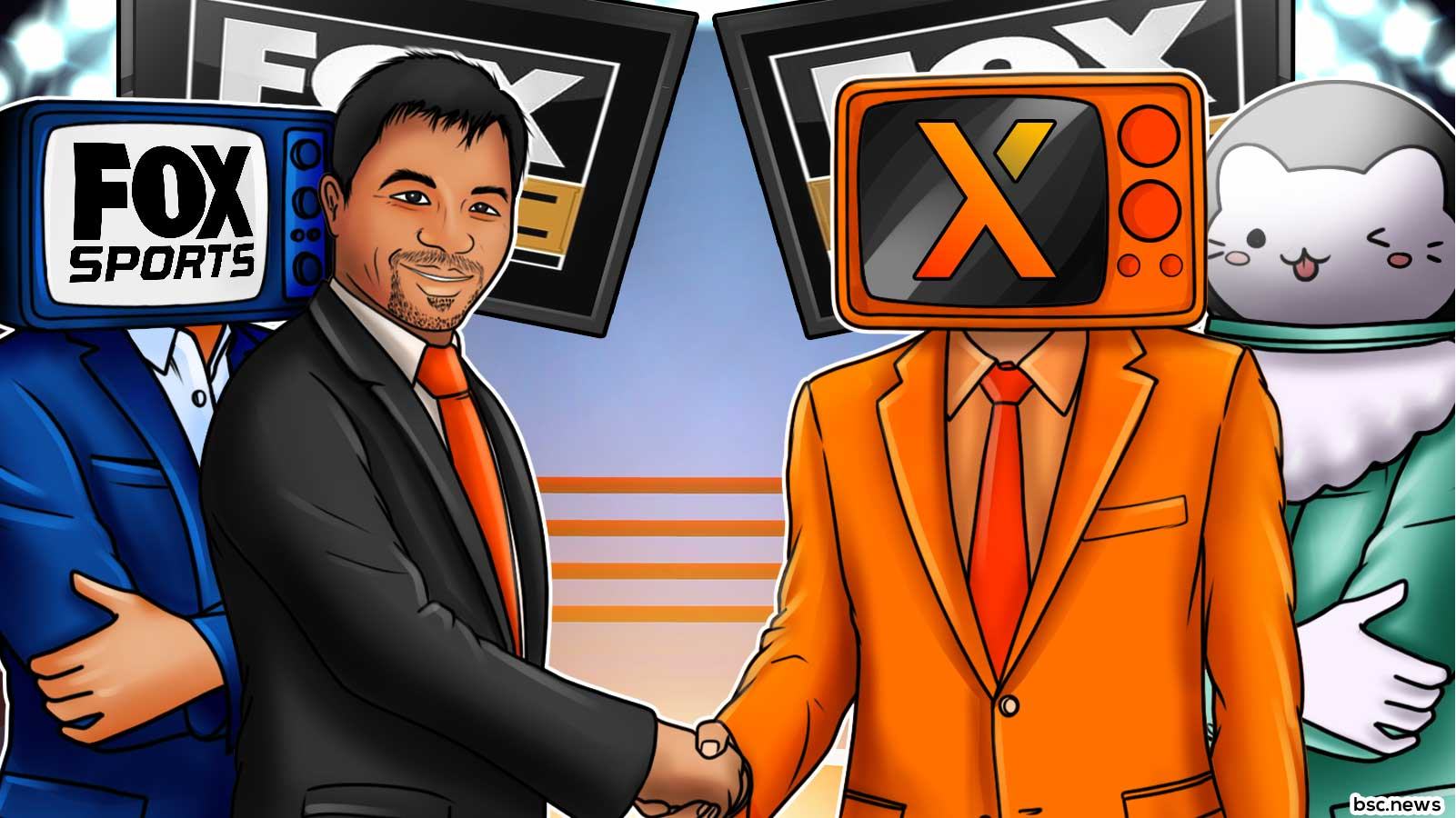 100x Coin and Creampie Swap Partner with Manny Pacquiao and Fox Sports PBC