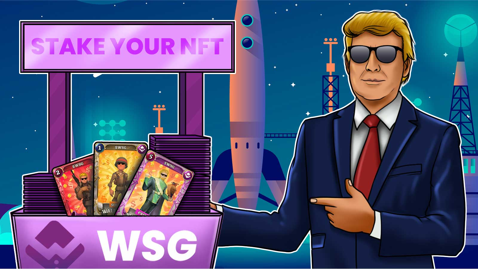 Wall Street Games Launches NFT Card Staking for Yield Farmers and Collecters