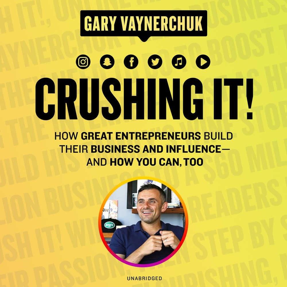 Business audio books free #3: Crushing it!
