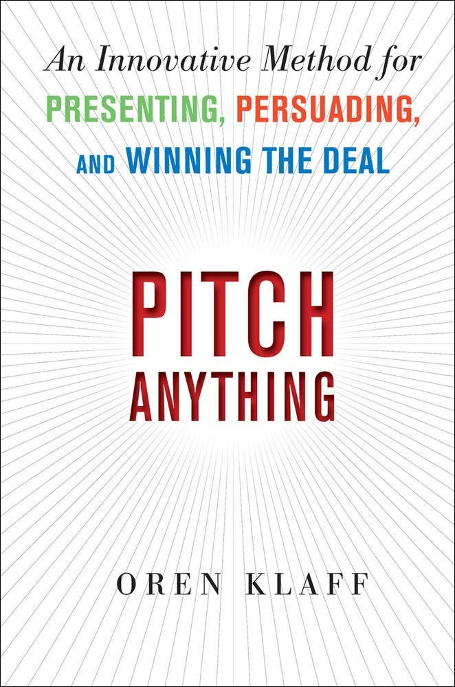 Best business audiobooks #17: Pitch Anything