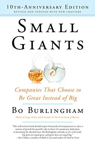 Best audio books for entrepreneurs #1: Small Giants