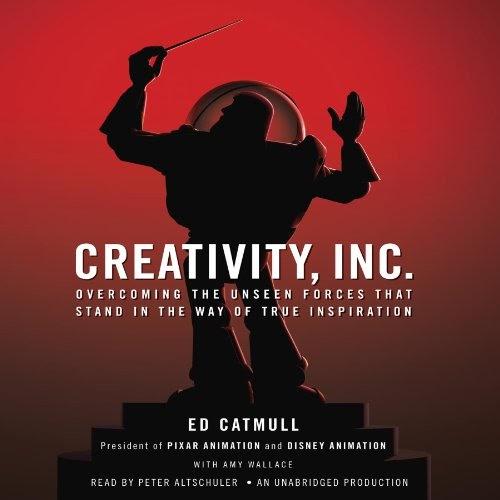 Best audio books for entrepreneurs #21: Creativity, Inc